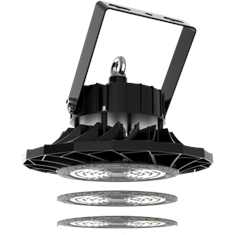 LED High Bay met wisselbare lens